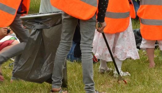 Opération ramassage des déchets
