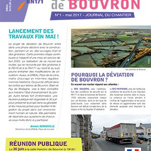 Journal de Chantier RN171 N°1