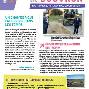 Journal de chantier RN171 N°3
